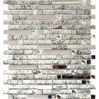 FLIESEN AVANTGARDE CRYSTAL MIX - mozaik (silver mix, 29,8x33,8cm)