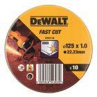DEWALT DT3507-QZ - fém vágókorong (125mm, 10db)
