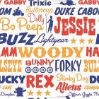 Tapéta (Disney Toy Story feliratok)