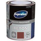 SUPRALUX BETON - padló- és lábazatfesték - téglavörös 0,75L