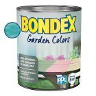 BONDEX GARDEN COLORS - bel- és kültéri festék - türkiz ég 0,75l