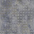 A.S. CREATION URBAN GRACE - tapéta (geometriai minta, szürke-arany)