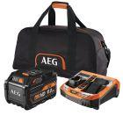 AEG SETL1890RHDBLK - akkumulátor és töltő (18V, 1x9,0Ah)