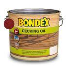 BONDEX DECKING OIL - favédő- és ápolóolaj - vörös mahagóni 2,5L