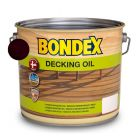 BONDEX DECKING OIL - favédő- és ápolóolaj - dió 2,5L