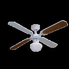 PROKLIMA TENERIFA/BUNGONIA - mennyezeti ventilátor világítással (Ø105cm, titán-juhar)