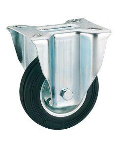 STABILIT - görgő (fix, 100kg, 125mm, fekete)