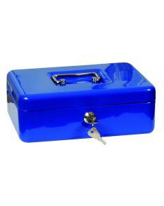 Pénzkazetta (25x9x18cm, kék)