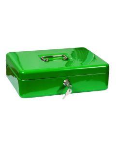 Pénzkazetta (30x9x24cm, zöld)