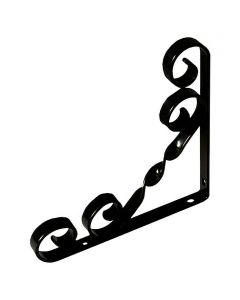 STABILIT - dekor konzol (fekete, 200x14x200mm)