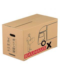 BAUHAUS MULTIBOX X  - költöztetődoboz (82L) 62,5x34,5x38cm
