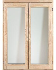 Fa erkélyajtó - 150x210 KFNY (bal)