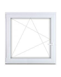 Műanyag ablak - 90x90 BNY (bal)