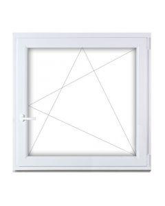 Műanyag ablak - 90x90 BNY (jobb)