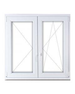 Műanyag ablak - 150x150 KFNY-BNY (jobb)
