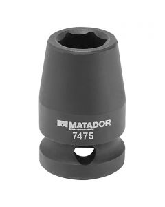 MATADOR - dugókulcsfej (19mm, 1/2)