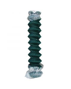 MULTIFERRO - drótkerítés műanyag bevonattal (zöld, kompaktált, 1,5x20m)