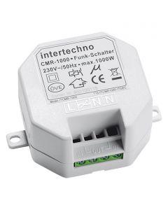 INTERTECHNO CMR-1000 - vezeték nélküli kapcsoló (max. 1000 W, rádiós, beépíthető)