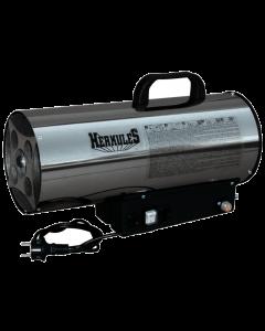 HERKULES - PB-gázos hőlégbefúvó (16kW, inox)