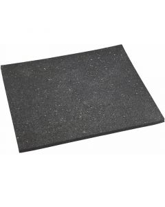 Gumilap (60x60x1cm, fekete)