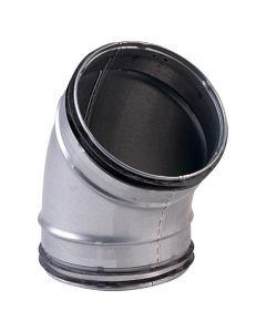 AIR-CIRCLE - flexibilis cső ív (Ø100mm, 45°)