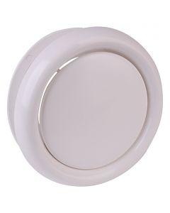 AIR-CIRCLE - tányérszelep (Ø125mm, fehér)