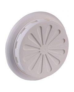 AIR-CIRCLE - szellőzőrács (Ø100-150mm, fehér)