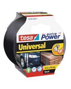 TESA EXTRA POWER UNIVERSAL - szövetszalag (10m, fekete)