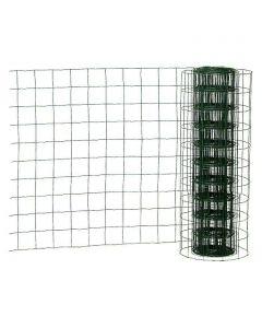 Drótkerítés műanyag bevonattal (1x20m, zöld)