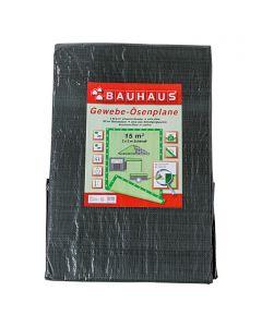 BAUHAUS - gyűrűs takaróponyva (3x5m, 140g/m2)