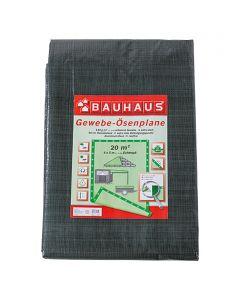 BAUHAUS - gyűrűs takaróponyva (4x5m, 140g/m2)