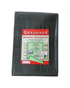 BAUHAUS - gyűrűs takaróponyva (3x4m, 140g/m2)