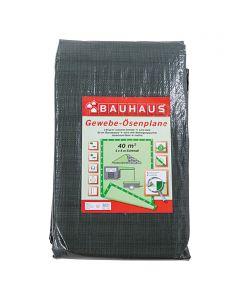 BAUHAUS - gyűrűs takaróponyva (5x8m, 140g/m2)