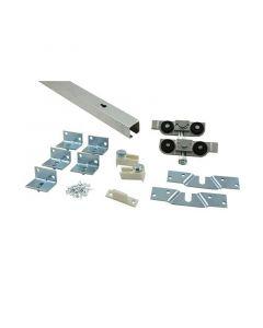 HBS BETZ - tolóajtó vasalat szerelési anyaggal (alumínium, 80kg, 190cm)