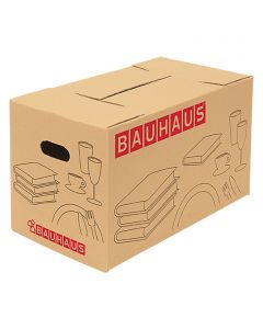 BAUHAUS - költöztetődoboz (64L) 58x33x33,5cm