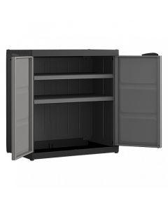REGALUX XL - műanyag szekrény (2 polcos) 93x89x54cm