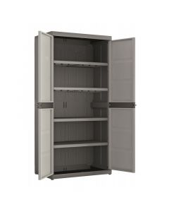 REGALUX XL - műanyag szekrény (4 polcos) 181x89x54cm