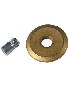 HEKA - csempevágó pótkerék (20x5x3mm, titan gold)