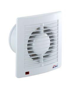 AIR-CIRCLE N39210 - fali ventilátor (Ø100mm, fehér)