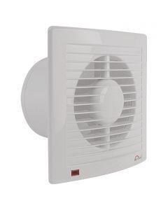 AIR-CIRCLE N39221 - fali ventilátor időkapcsolóval  (Ø125mm, fehér)