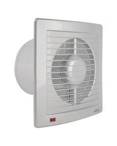 AIR-CIRCLE N39225 - fali ventilátor (Ø125mm, nemesacél színű)