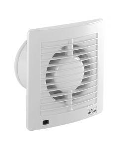 AIR-CIRCLE N39231 - fali ventilátor időkapcsolóval (Ø150mm, fehér)