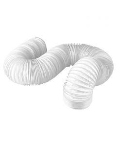 AIR-CIRCLE - PVC-tömlő (Ø150mmx1m, fehér)