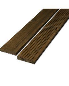 RETTENMEIER - kültéri padlódeszka (2,8x14,5x300cm, teak)