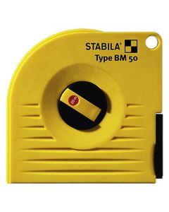 STABILA - mérőszalag 10M (fehér, lakk)