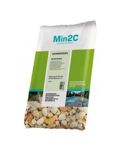 MIN2C - kvarckő (taunus sárga, 8-16mm, 25kg)