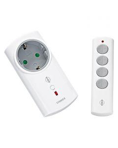 INTERTECHNO IT-300L - vezeték nélküli adapterdugaljszett fényerőszabályzóval (40-300W)