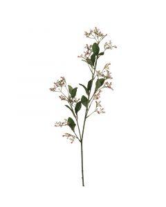 MICA DECORATIONS - selyemvirág (kőtörőcserje ág, rózsaszín, 77cm)