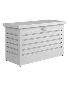 BIOHORT FREIZEITBOX - kerti tároló (101x46x61cm, fém, ezüst-metál)