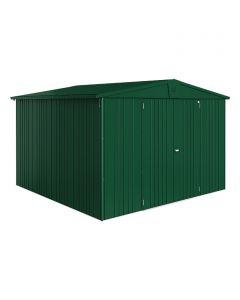 BIOHORT EUROPA - kerti tároló (316x300x209cm, fém, sötétzöld)